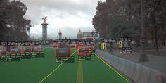 How a Tesla Autopilot Sees the Parisian Road – A WordPress Site Computer Vision, Tesla S, Under Construction, Offroad, Parisian, Wordpress, Eyes, Watch, Blog