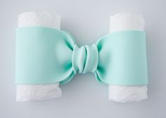 How to make gumpaste bow