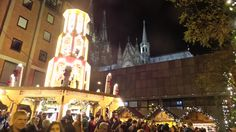 At the Cathedral Christmas Market.