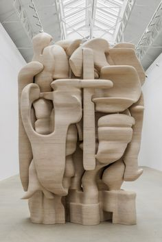 "Sculptor Tony Cragg Creates Bold Works That ""Embody A Frozen Moment Of Movement"" - Art - Kunst Art Sculpture, Abstract Sculpture, Bronze Sculpture, Metal Sculptures, Land Art, Ceramic Pottery, Ceramic Art, 3d Prints, Elements Of Art"