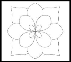 Image result for daisy pattern to hand embroider
