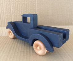 Little Blue Pickup Truck