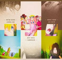 That Reunion of team 7 :( :(