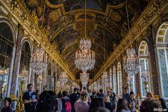 Sala de los Espejos – Aposentos privados del Palacio de Versalles