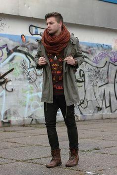 Minimum Hooded Parka #Fashion #Style #MensWear