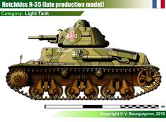 H-35 Light Tank (late)