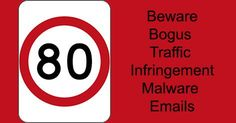 """""""You Have Been Issued With a Traffic Infringement"""" Malware Email"""