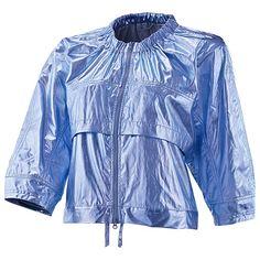 this with white pants--crisp studio attire--adidas Studio Metallic Jacket--stella mccartney of course