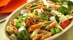 Salada Light de macarrão  (massa integral)  é o que teremos pra hoje!