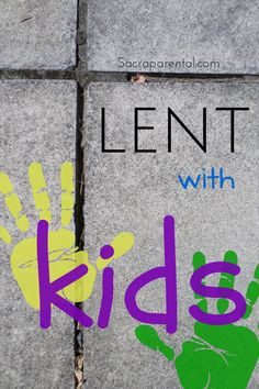 Do you have plans for doing Lent with kids? Lots of ideas here! | Sacraparental.com (And check out the series guide at http://sacraparental.com/2014/03/05/sacraparental-lent-2014-quick-guide/)