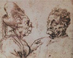 Caricature - Leonardo da Vinci