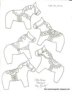 Paintersgarden: Darla Horse designs