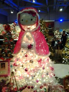 Hello Kitty Christmas Tree