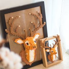 Perler Beads Pegboard, 3d Perler Bead, Pearler Beads, Fuse Beads, Perler Bead Pokemon Patterns, Beaded Skull, Crafty Craft, Beading Supplies, Pattern Art