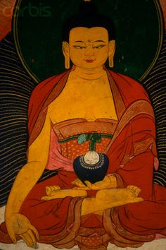 Painting of a Medicine Buddha
