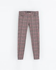 Image 7 of CHECKED TROUSERS from Zara