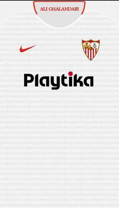 Sevilla Soccer Kits, Football Kits, Football Players, Ac Milan Kit, Soccer Outfits, Football Wallpaper, Sport Wear, Manchester United, Shirts