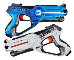Amazon.com: Legacy Toys Laser Tag Set for Kids (2 Pack) for Boys and Girls Birthday Party Lazer Tag Blasters: Toys & Games