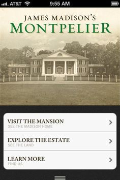 Virtual tour of James Madison's Montpelier