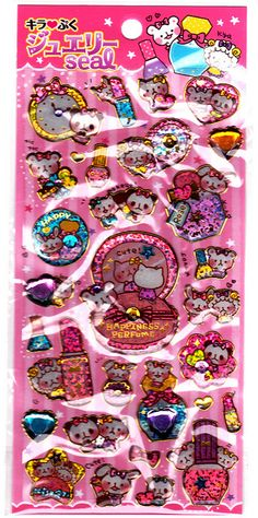 Pool Cool ~ Happiness Perfume Sticker Sheet
