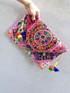 Banjara Clutch Banjara Bag Vintage Bag Ethnic от KITTYKATMELBOURNE