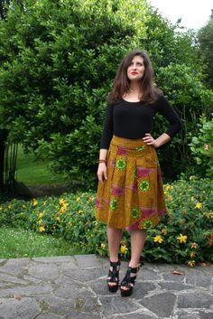 diy afro skirt