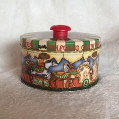Collectable-Wolfgang-Candy-Carousel-Tin-Merry-Go-Round
