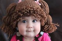 free crochet adult wig pattern - Bing images
