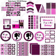 Barbie printables