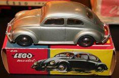 Plastic LEGO auto schaalmodellen
