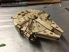 Naves Star Wars Para Armar En Mdf - $ 300,00 en MercadoLibre