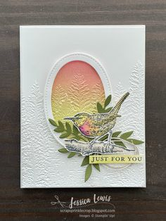 Stamping Up Cards, Rubber Stamping, Embossed Cards, Bird Cards, Card Tutorials, Creative Cards, I Card, Butterflies, Stampin Up