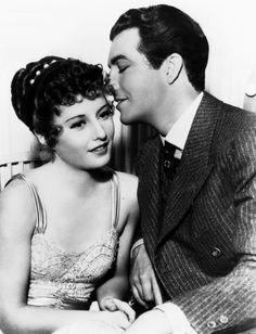 Barbara Stanwyck & Robert Taylor.