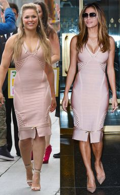 Ronda Rousey Stuns in Skin-Tight Bandage Dress?and Nicole Scherzinger Wears It One Day Later! Fall Fashion Outfits, Casual Fall Outfits, Fashion Show, Autumn Fashion, Womens Fashion, Fashion Trends, Nicole Scherzinger, Ronda Rousey, Brian Atwood