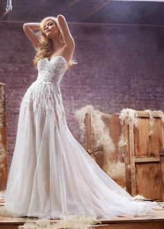 Hayley Paige Spring 2014 - Belle the Magazine . The Wedding Blog For The Sophisticated Bride