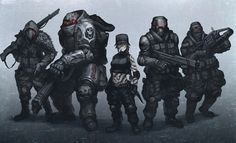 Team assault - future soldiers