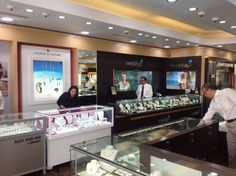 Marahlago Jewelry Showcase #retaildesign #display Manufacture & Design of Store Fixtures by Artco Group