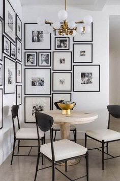 - Modern Interior Designs - Get inspired by the most dazzling white interior design that will elevate your h. Get inspired by . Dining Room Wall Decor, Dining Room Design, Dining Nook, Dining Tables, Outdoor Dining, Interior Design Living Room, Dining Room Corner, Corner Wall, Interior Livingroom