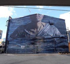 Artist: Ricky Lee Gordon  Location: Hawaii  Photo: repost - check out @rickyleegordon for more amazing murals!  ℹ More tomorrow at StreetArtRat.com  #travel #streetart #street #streetphotography #tflers #sprayart #urban #urbanart #urbanwalls #wall #wallporn #graffitiigers #stencilart #art #graffiti #instagraffiti #instagood #artwork #mural #graffitiporn #photooftheday #streetartistry #pasteup #instagraff #instagrafite #streetarteverywhere #hawaii