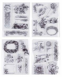 """Stempel-Set """"Blumen"""""""