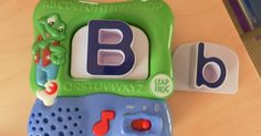 We have come to the end of Letter B and Number 2 week! Here's the fun we had:    LeapFrog Fridge Magnetic Alphabet Set  and our flash ca...