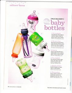 5 phases makes best bottles of 2014 list Glass Baby Bottles, American Baby, Preparing For Baby, Made Goods, Sweet Girls, Future Baby, Cute Babies, Throwback Thursday, How To Make