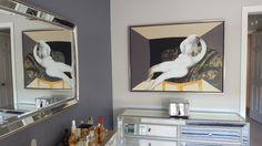 Artwork by Victor Tkachenko in client's home Original Artwork, Gallery, Roof Rack