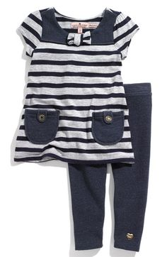 Juicy Couture French Terry Tunic & Leggings Set (Toddler) available at #Nordstrom