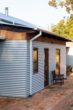 Shed Plans - Inspired by rustic farmhouses and shearing sheds, this country house in Western Australia embraces the Australian vernacular. - Now You Can Build ANY Shed In A Weekend Even If You've Zero Woodworking Experience! House Cladding, Exterior Cladding, Zinc Cladding, Exterior Shutters, Exterior Stairs, Stone Cladding, Exterior Paint, Passive Solar Homes, Passive House