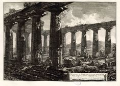 Piranesi-15021 - Giovanni Battista Piranesi. Paestrum, planche XX (1778)
