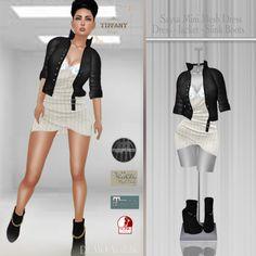 TD Saysa Mini Mesh Dress - White v