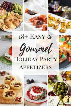 Need Holiday Party Etizer Ideas For Your Next Thanksgiving Dinner Or Christmas From Baked Brie To Potato Bites Stuffed Mushrooms