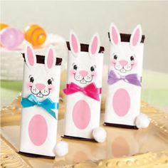 Bunny Chocolate Bar Craft