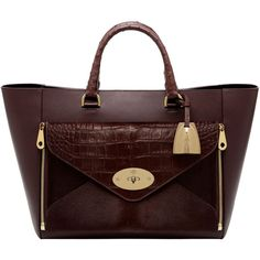 Willow Tote Oxblood Mixed Exotic (€4.290) ❤ liked on Polyvore featuring bags, handbags, tote bags, purses, bolsas, zipper pouch, zippered tote, leather zip pouch, leather zipper pouch and leather tote bags